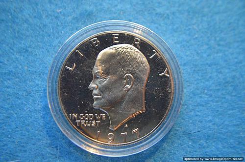 1977 S Eisenhower Dollars Proof