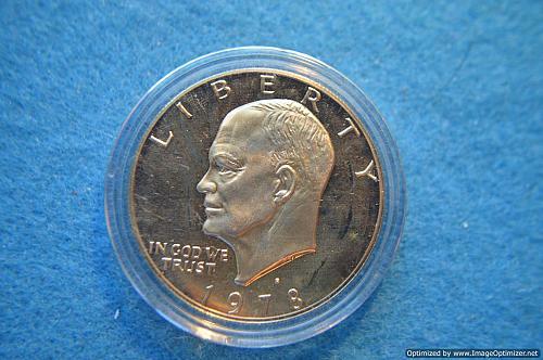 1978 S Eisenhower Dollars Proof