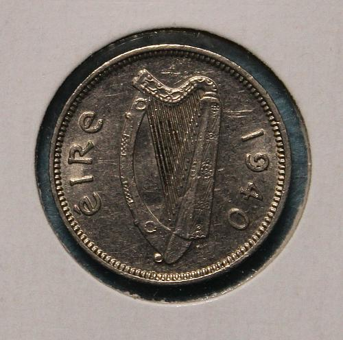 Ireland 1940 3 pence
