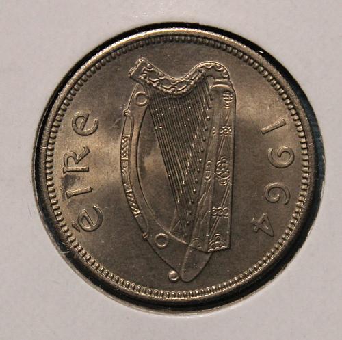 Ireland 1964 shilling