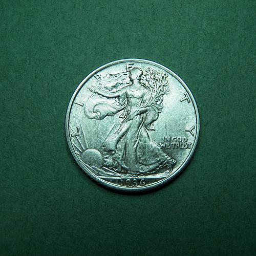 1936 P Walking Liberty Half Dollar AU Coin   u71