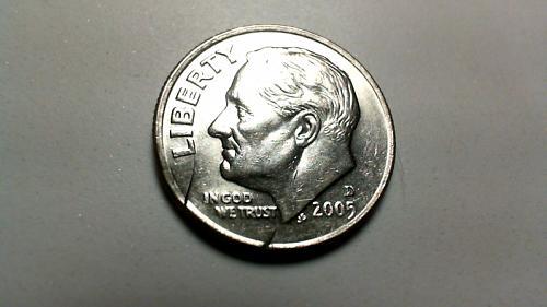 2005 D Roosevelt Dimes