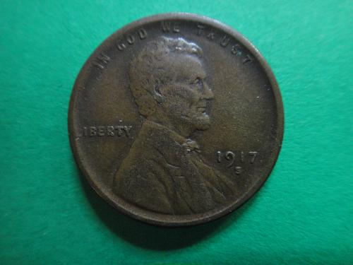 1917-S Lincoln Cent Extra Fine-45 Nice Nearly Mark Free Coin!