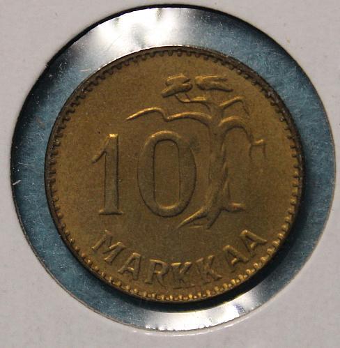 Finland 1955 10 Markaa