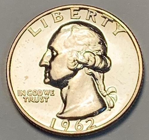 1962 Proof Washington Silver Quarter [BSWQ 52]