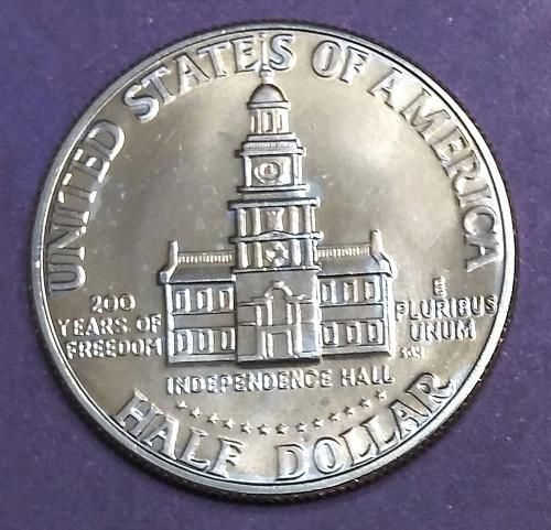 UNCIRCULATED 1976-D KENNEDY HALF DOLLAR
