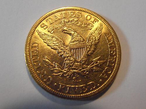 1901 S Gold $5 Liberty Half Eagle  (01S101)