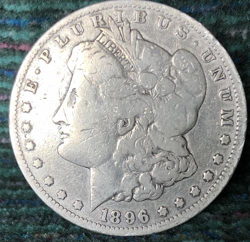 For sale a 1896 New Orleans Morgan silver Dollar