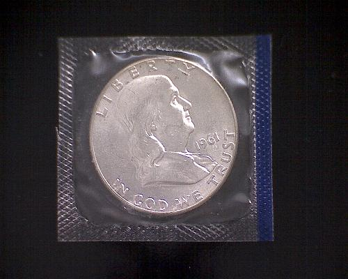 1961 P FRANKLIN HALF DOLLAR