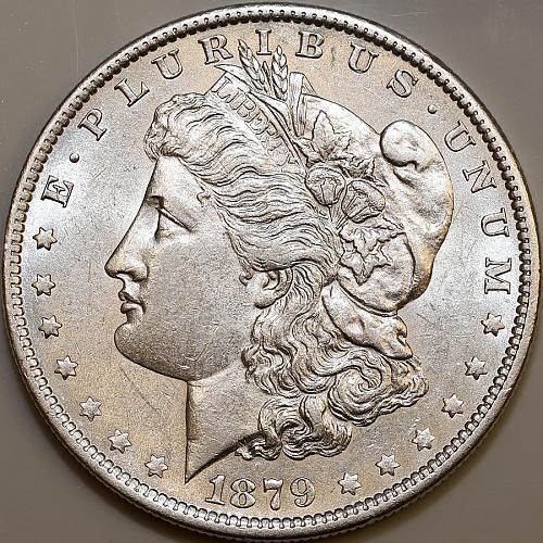 1879 O Morgan Silver Dollar - Choice BU / MS / UNC