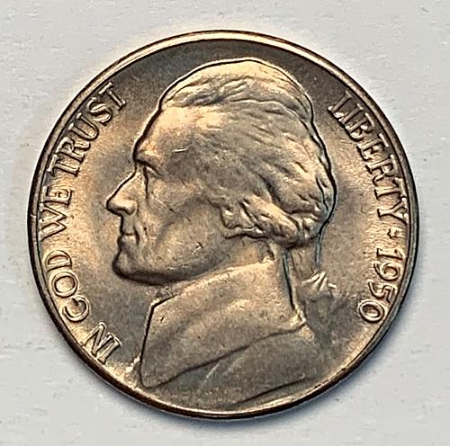 1950-D Jefferson Nickel MS64 [SVB 14]