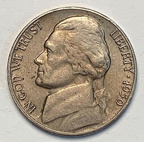 1950-D Jefferson Nickel [SVB 15]