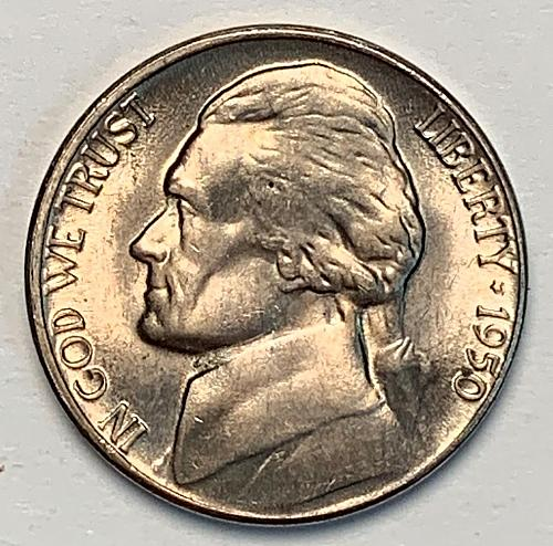 1950-D Jefferson Nickel MS63 [SVB 18]