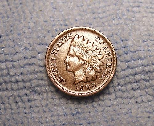 1909s  INDIAN HEAD CENT  xf