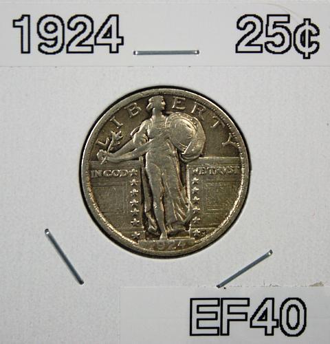 1924 P Standing Liberty Quarter