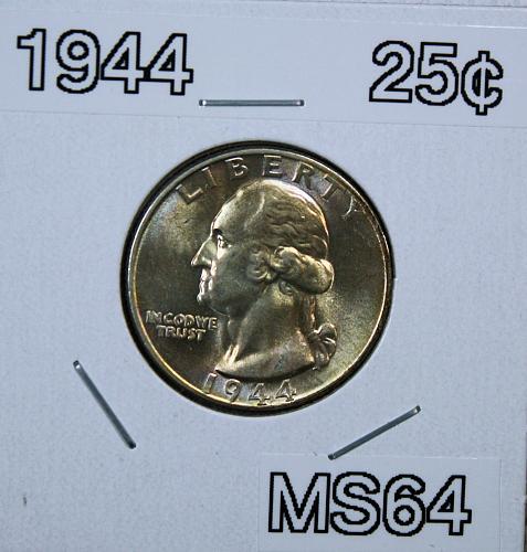 1944 P Washington Quarter
