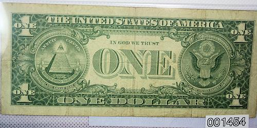 1957 1$ Silver Certificate