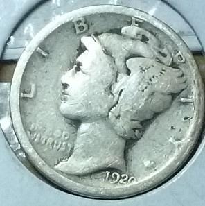 1920-P Good Mercury Dime   ( 712)