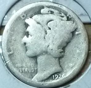 1926-D Good Mercury Dime   ( 723)