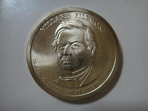 2010-P Fillmore Position B Presidential Dollar MS-66 (GEM+)