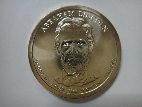 2010-D Lincoln Position B Presidential Dollar MS-66 (GEM+)