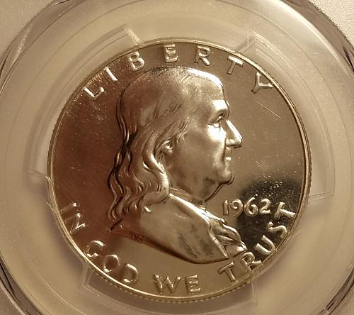 1962 Franklin Half Dollar PCGS Proof 66!