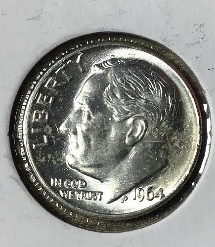 1964 D Roosevelt Dime   #903