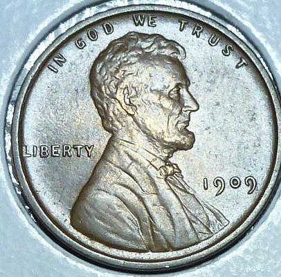 1909-P VDB Uncirculated Lincoln Wheat Cent (101)