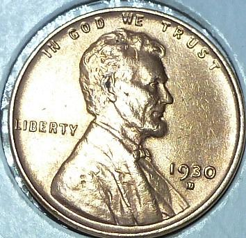 1930-D RED Uncirculated Lincoln Wheat Cent  UNC ( 149)