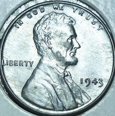 1943-P Uncirculated Lincoln Wheat Cent  UNC ( 159)
