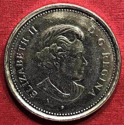 Canada 2003 small P = 5 Cents [#2]