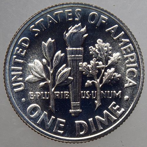 1964 P Roosevelt Dime #12 CAM66 PROOF  BV= $18.00