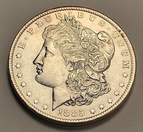 1885-O Morgan Silver Dollar UNC [MDL 324]