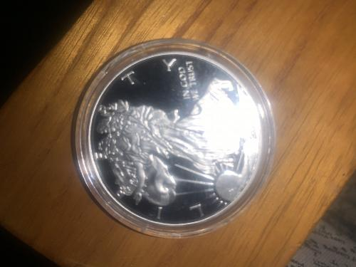 2018-S American Eagle-PCGS/Fine Silver Dollar 2018 S Uncirculated In Mint Condit