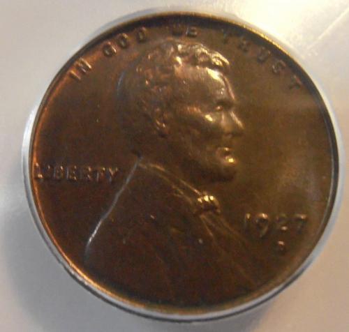 1927 D Lincoln Cent Better Grade  MS62 BN (27D301)