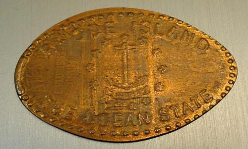 Ocean State Elongated Cent