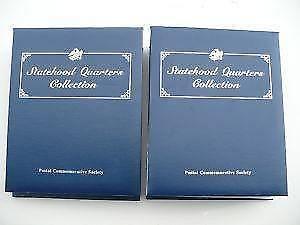 Postal Commemorative Society Volumes I & II US Quarters
