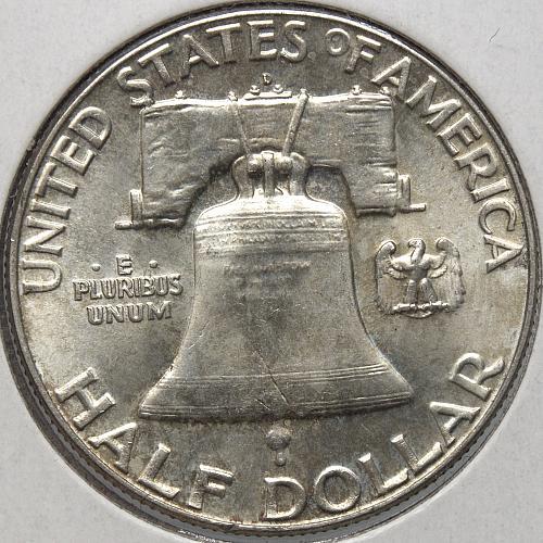 1963 D Franklin Half Dollars #2