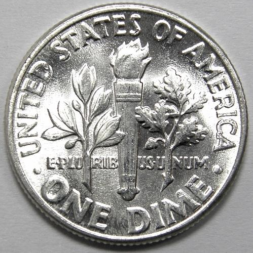 1956 P Roosevelt Dime #1 Bright White!!!