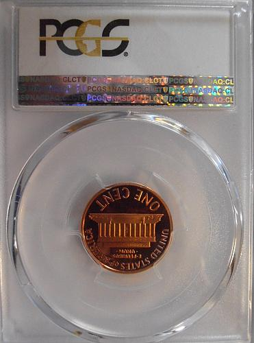 2007 S PR69RD DCAM Lincoln Cent, PCGS Certified (07S989)