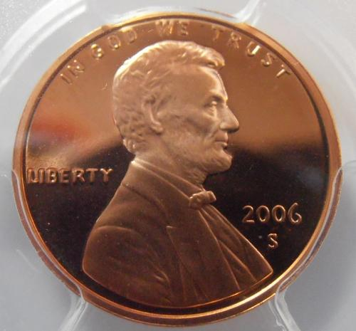 2006 S PR69RD DCAM Lincoln Cent, PCGS Certified (06S781)