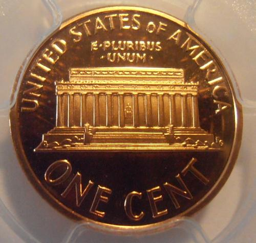 2000 S PR70RD DCAM Lincoln Cent, PCGS and QA Certified (00S403)