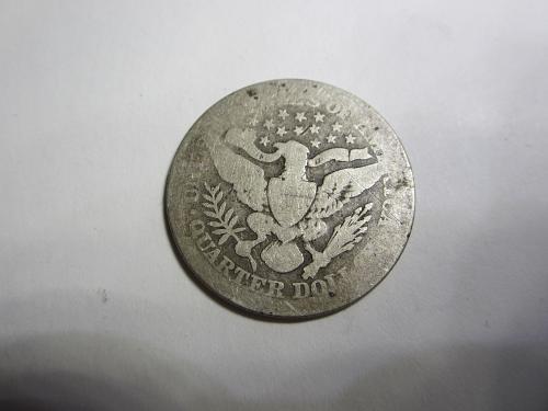 2-Quarters 1903-P & 1907-P