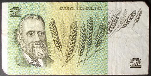 Australia P43b3 2 Dollars Fine