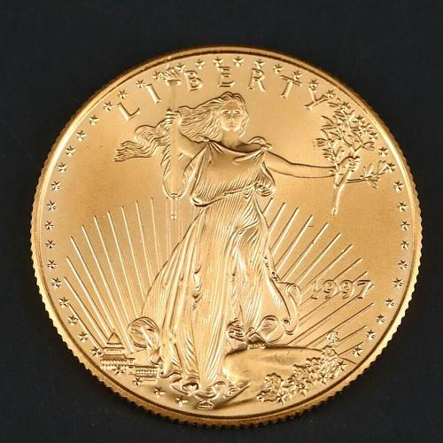 1997 P Gold Eagle $25 - American Gold Eagle AGE - UNCIRCULATED