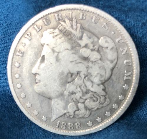For sale a 1888 New Orleans Morgan silver Dollar