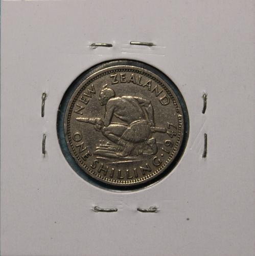 New Zealand 1947 1 shilling