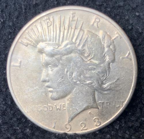 For sale a 1923 San Francisco Morgan silver Dollar