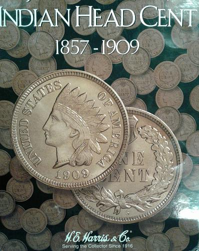 Flying Eagle and Indian Head Cent Collection starter set