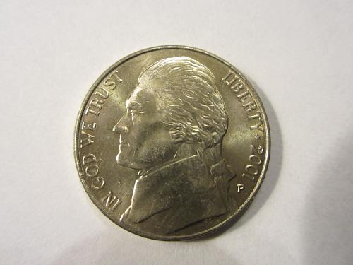 2001 P Jefferson Nickels. See Pictures